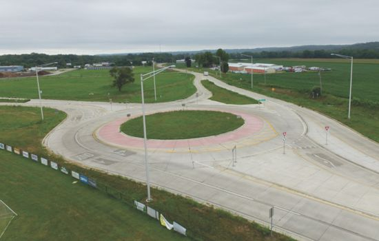 Old Galena Roundabout
